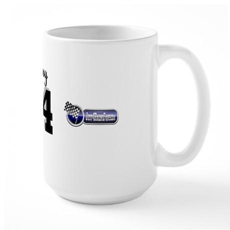 J4RF Black/Silver Large Mug 14