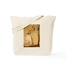 Gill: 'Wahine with Basket' Tote Bag