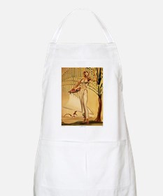 Gill: 'Wahine with Basket' BBQ Apron