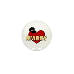 NCIS McAbby Mini Button (10 pack)