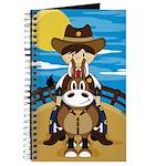 Cowboy Sheriff on Horse Journal