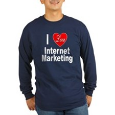 I Love Internet Marketing (Front) T