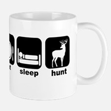 Eat Sleep Deer Hunt Deer Camp Mug