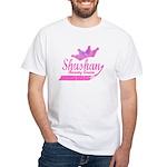 Shushan Beauty Queen White T-Shirt
