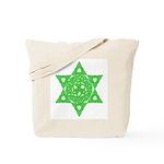 Celtic Star of David Tote Bag
