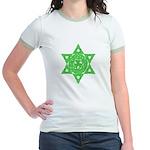 Celtic Star of David Jr. Ringer T-Shirt