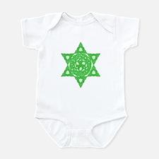 Celtic Star of David Infant Creeper