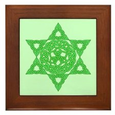 Celtic Star of David Framed Tile