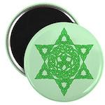 """Celtic Star of David 2.25"""" Magnet (10 pack)"""