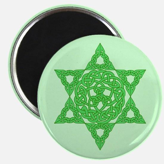 Celtic Star of David Magnet