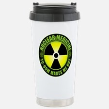 Nuclear Medicine Stainless Steel Travel Mug