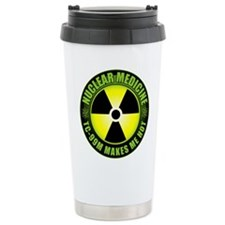 Nuclear Medicine Travel Coffee Mug