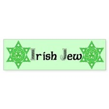 Celtic Star of David Bumper Bumper Sticker