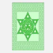 Celtic Star of David Postcards (Package of 8)