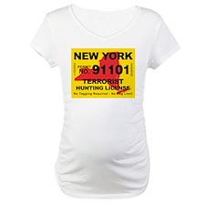 New York Terrorist Hunting Li Shirt