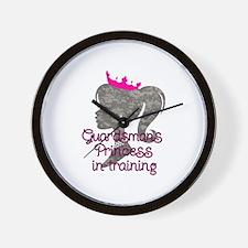 Guardsman Princess Wall Clock