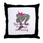 Guardsman Princess Throw Pillow