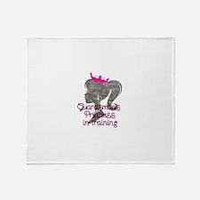 Guardsman Princess Throw Blanket