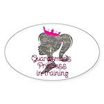 Guardsman Princess Sticker (Oval 10 pk)