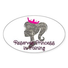 Reserves Princess Decal