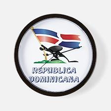 REP. DOMINICANA Wall Clock