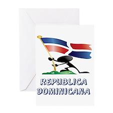 REP. DOMINICANA Greeting Card