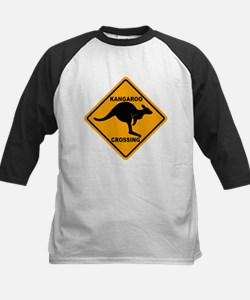 Kangaroo Crossing Sign Tee