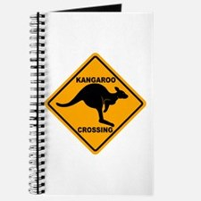 Kangaroo Crossing Sign Journal