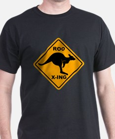 Roo X-ing Sign T-Shirt