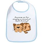 Singing a round of Soft Kitty Bib