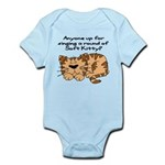 Singing a round of Soft Kitty Infant Bodysuit