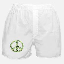 Shamrock Peace Boxer Shorts