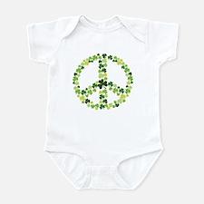 Shamrock Peace Infant Bodysuit