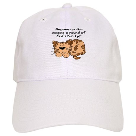 Singing a round of Soft Kitty Cap