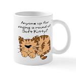 Singing a round of Soft Kitty Mug