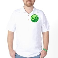 Shamrock Ying Yang T-Shirt