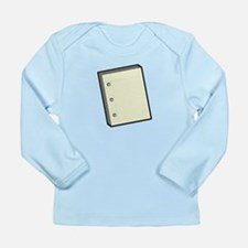 Paper Long Sleeve Infant T-Shirt