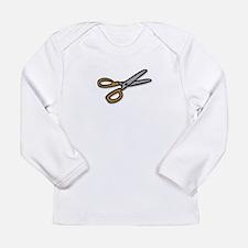 Scissors Long Sleeve Infant T-Shirt