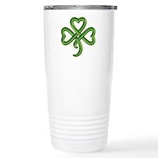 Shamrock Hearts Travel Mug