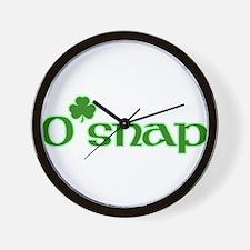 O' Snap Wall Clock