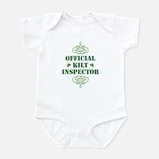 Official Kilt Inspector Infant Bodysuit