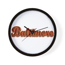 Baltimore... Wall Clock
