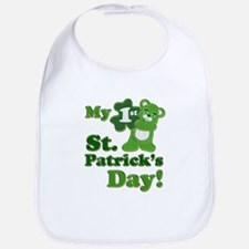 My First St. Patricks Day Bib