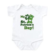 My First St. Patricks Day Infant Bodysuit