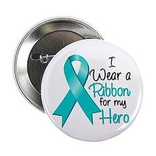 """Hero - Gynecologic Cancer 2.25"""" Button"""