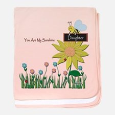 You Are My Sunshine Infant Blanket (Daughter)