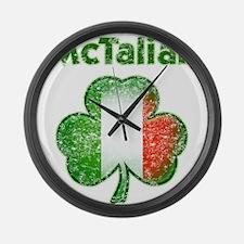 McTalian Distressed Large Wall Clock
