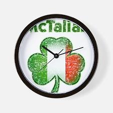 McTalian Distressed Wall Clock