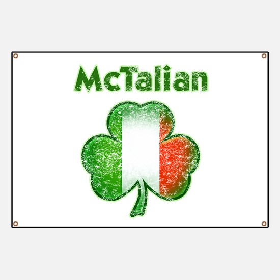 McTalian Distressed Banner