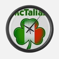 McTalian Large Wall Clock